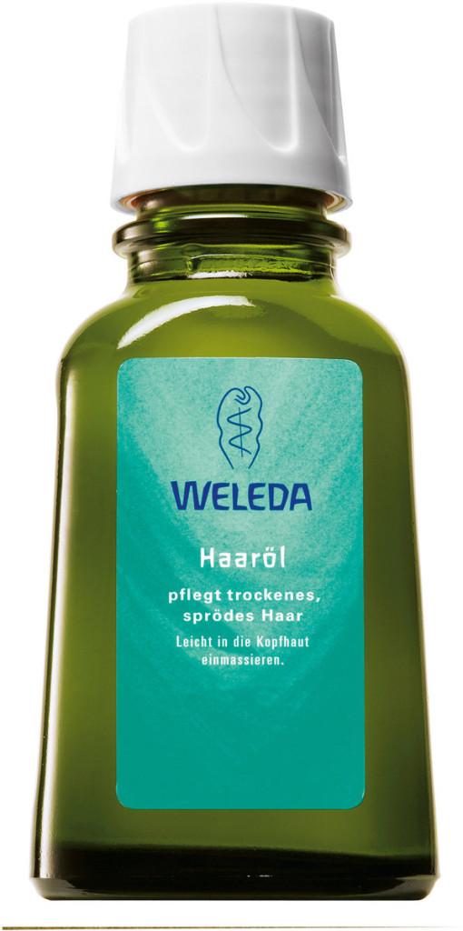 Olio per capelli di Weleda