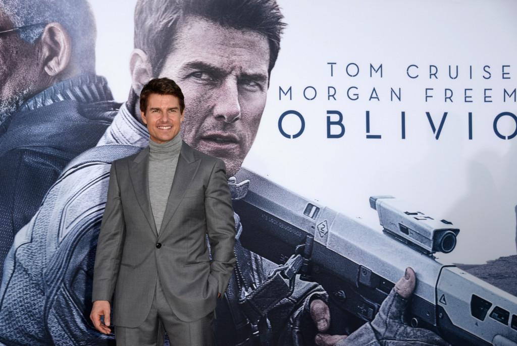 Tom Cruise alla premiere di