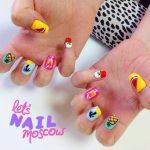 nail art summer