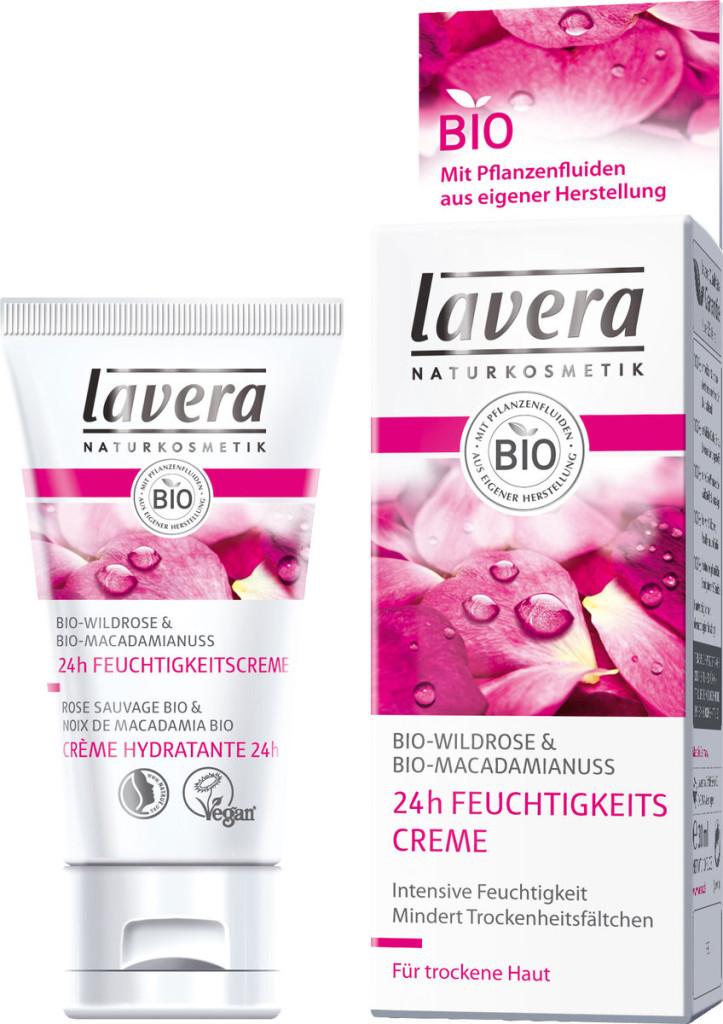 Crema Idratante 24h di Lavera
