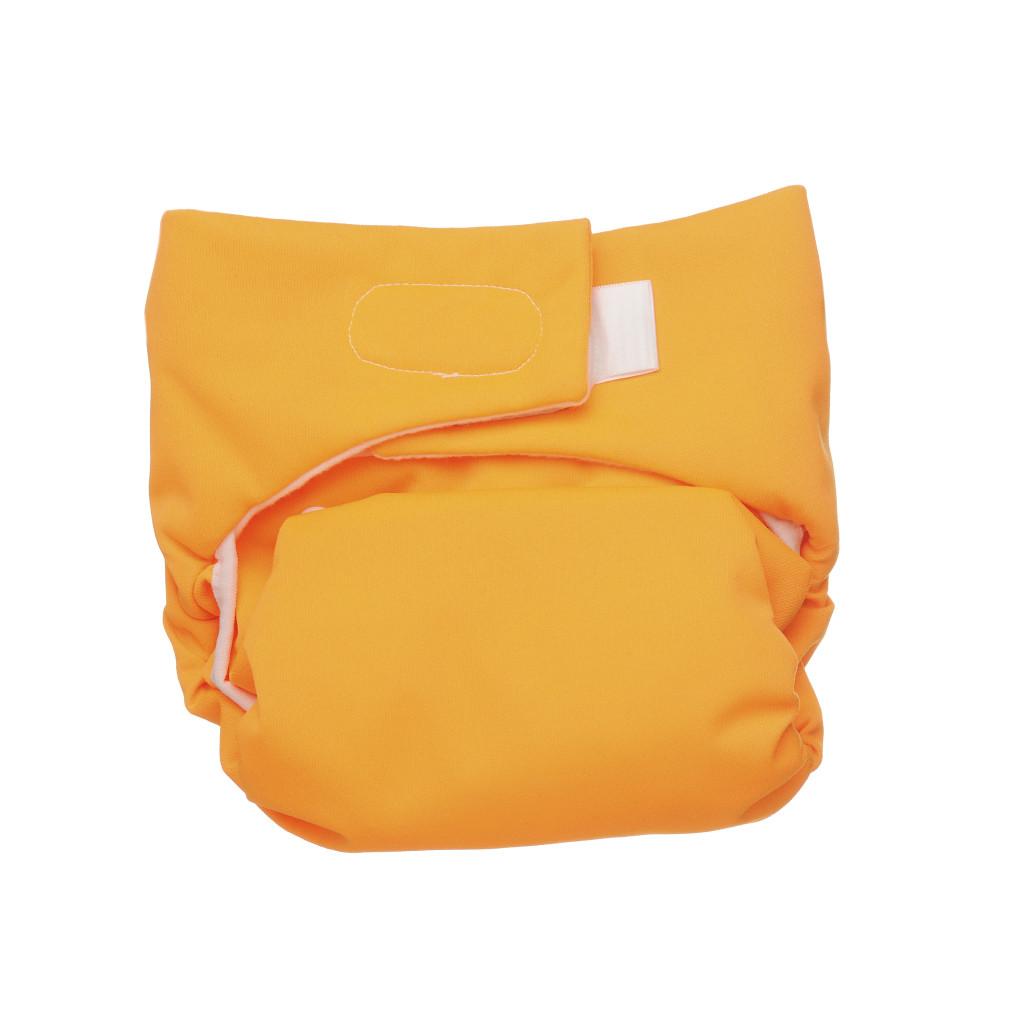 Un altro modo di chiudere il pannolino lavabile con il velcro