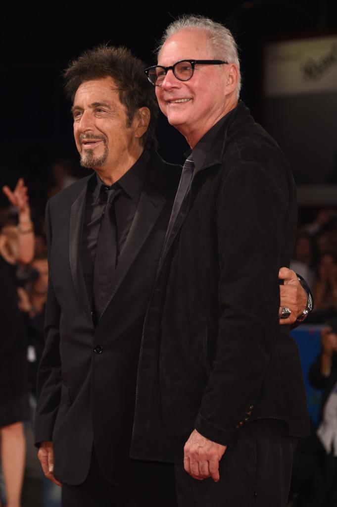 Al Pacino e Barry Levinson - Venezia 2014