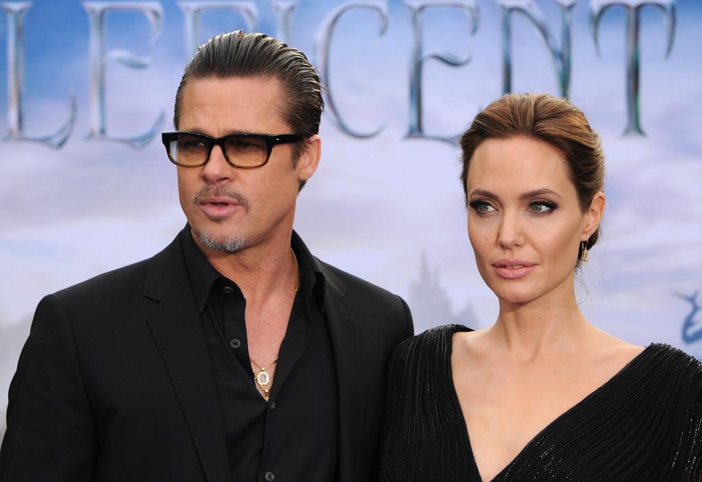 Brad e Angelina alla premiere di Maleficent