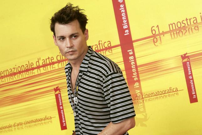 Johhny Depp a Venezia per presentare