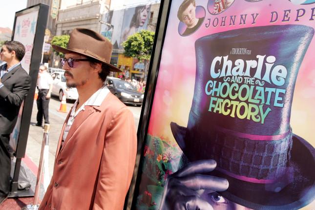 Johnny Depp alla premiere di