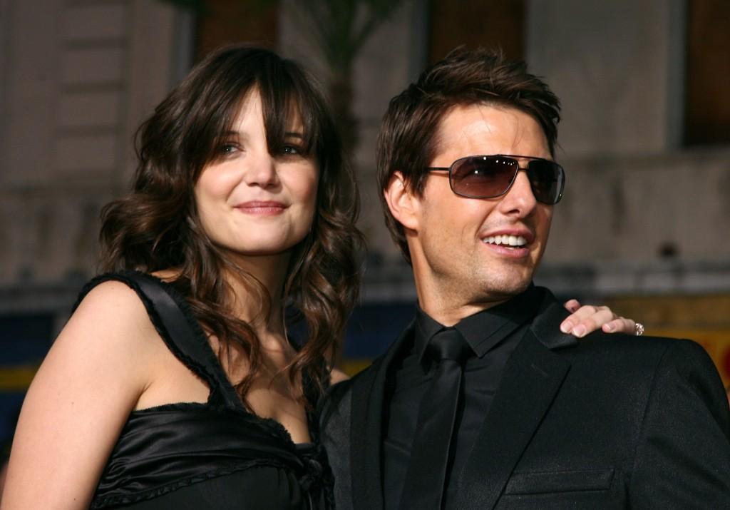 Tom e Katie a Hollywood nel 2004