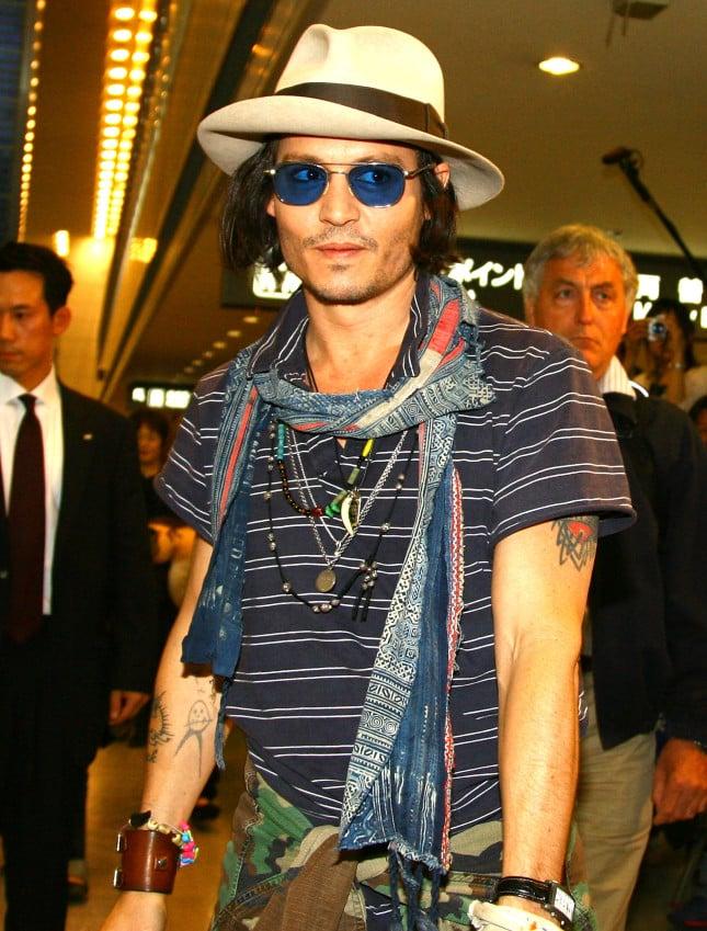 Johhny Depp in Giappone per