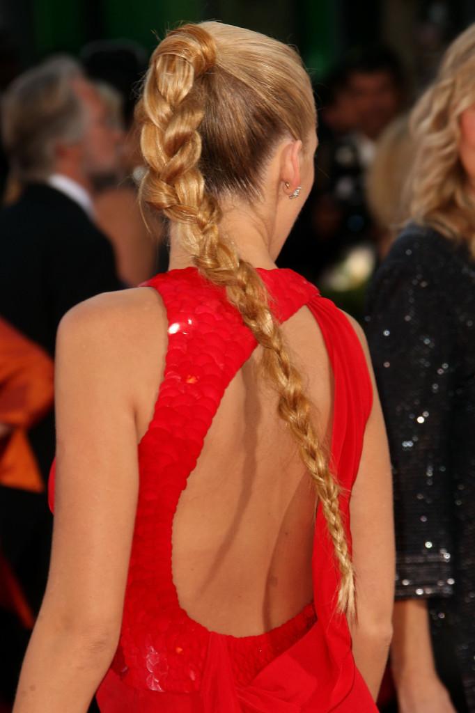 Le trecce sono perfette per i capelli biondi