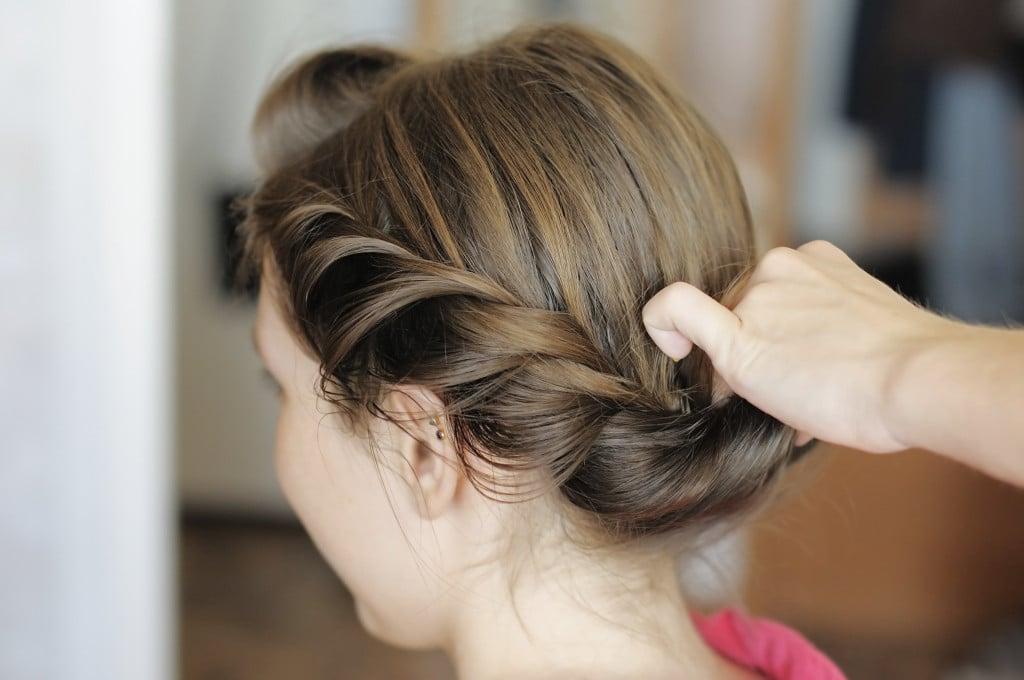 Intreccio capelli sposa