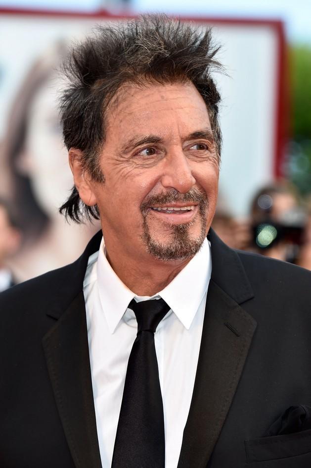 Sbarca a Venezia per il quarto giorno della Mostra, del Cinema di Venezia 2014, il grande attore di Hollywood, Al Pacino