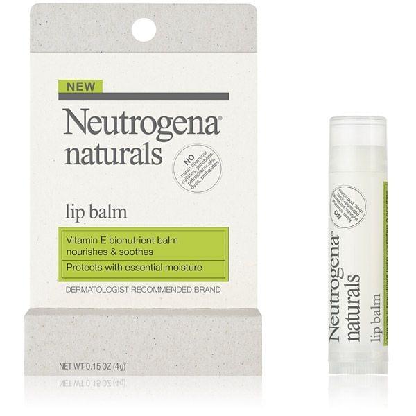 Ricco in vitamina E, Neutrogena Naturals Lip Balm è l'ideale per proteggere le labbra dal freddo