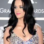 Katy Perry make up metallizzato colorato