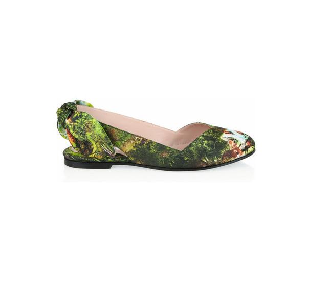 Carven scarpe con stampa floreale
