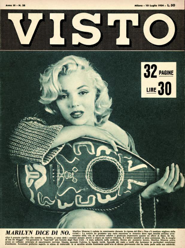 Copertina di Visto 1954