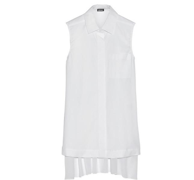 Camicia di cotone senza maniche di DKNY, SS 14