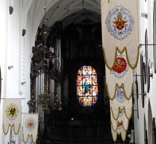Nella cattedrale di Oliwa (Danzica) ogni ora potrete ascoltare un concerto del suo magnifico organo ©CMariani