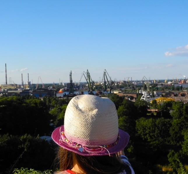 Sui vecchi forti napoleonici di Danzica è possibile avere una panoramica spettacolare della città e dei suoi famosi cantieri navali ©CMariani