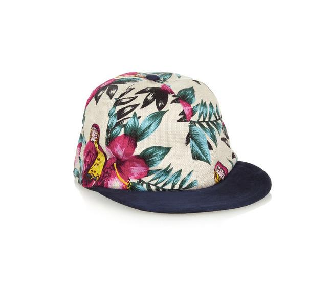 Eugenia Kim  cappello con fantasia a fiori