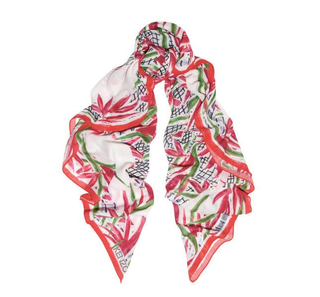 Kenzo foulard con fantasia