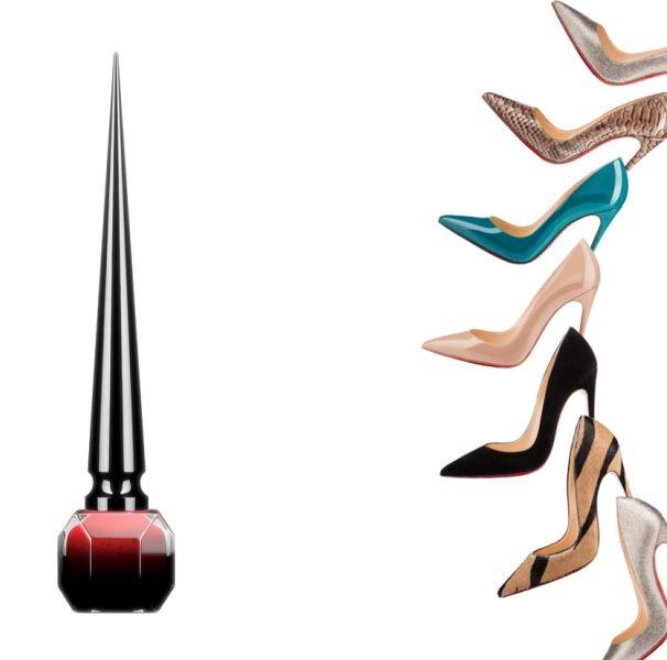 Gli smalti della linea Louboutin Beauté si dividono in Nude, Noir e Pop, proprio come le collezioni di scarpe dello stilista
