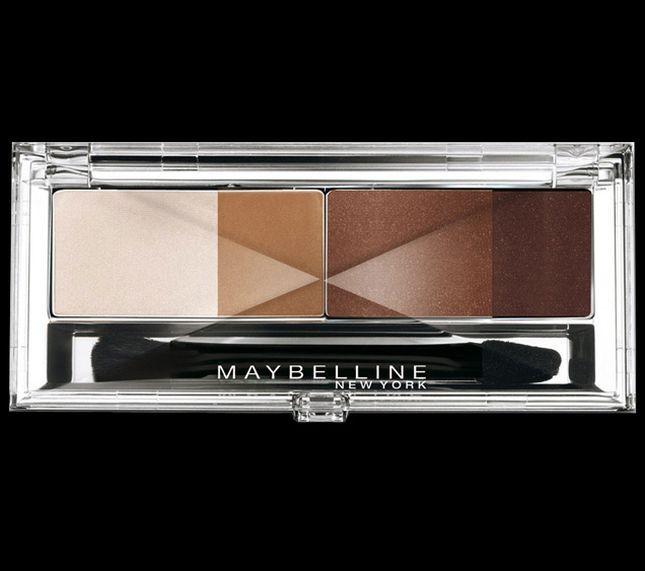 Maybelline Eye Studio Glamour Browns permette di realizzare un trucco naturale