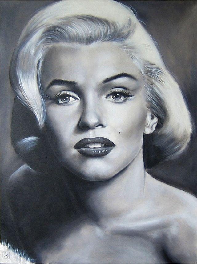 Marilyn Monroe by Ralf Krampe