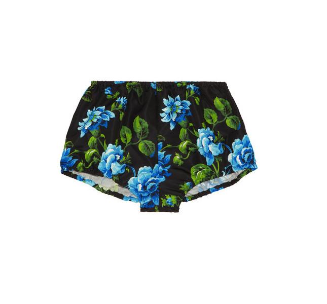 Miu Miu  culotte a fiori