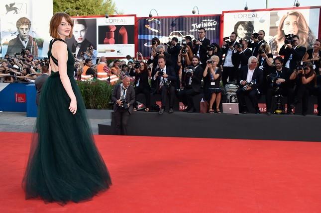 Emma Stone alla Mostra del Cinema di Venezia 2014