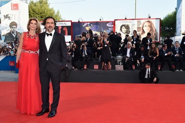 Alejandro Gonzalez con la moglie Maria Eladia Hagerman