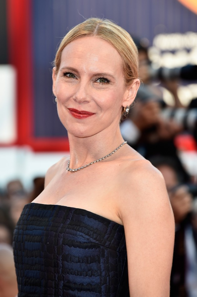 Amy Ryan sul tappeto rosso della Mostra del Cinema di Venezia 2014