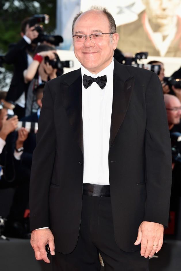 Carlo Verdone sul red carpet della Mostra del Cinema di Venezia 2014