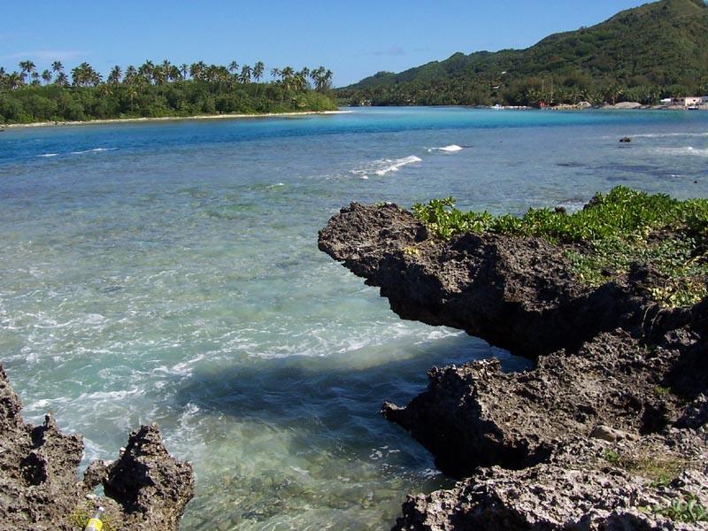 Rarotonga beach / wikipedia