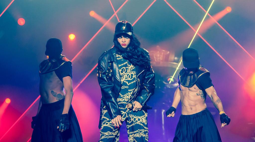 I concerti di Rihanna sono sempre uno spettacolo assicurato