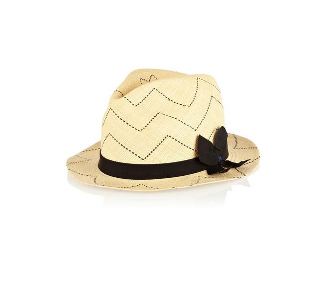 Il cappello di paglia by Sensi Studio, ciliegina sulla torta per un look da spiaggia super glam