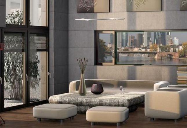 Porte e finestre in pvc e alluminio FIN-Project di FINSTRAL