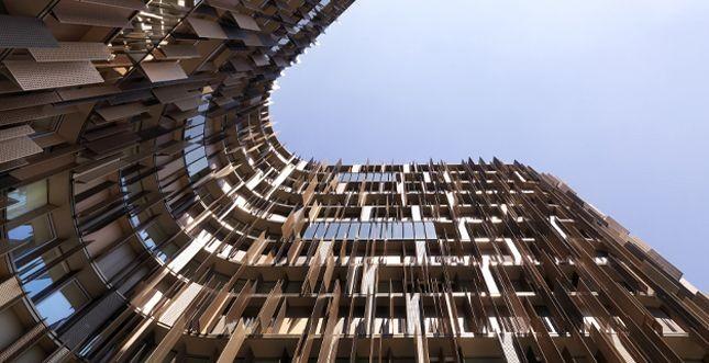 Porta la firma di Schüco l'edificio U15 di Milano Fiori (Assago)