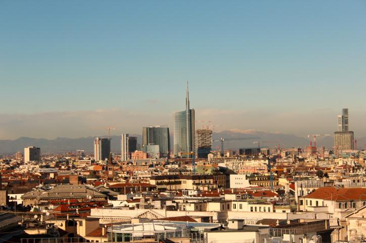 Il nuovo skyline di Milano, in attesa di Expo