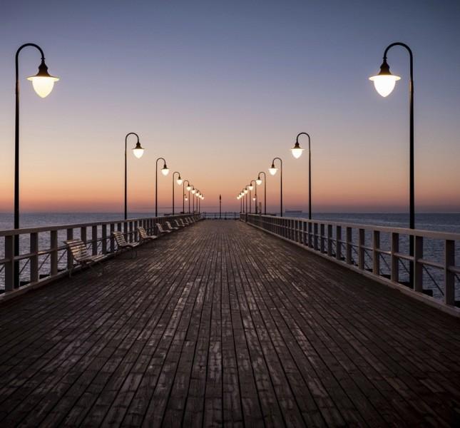 Il molo di Sopot è il molo in legno più lungo d'Europa. In estate ospita il cinema all'aperto