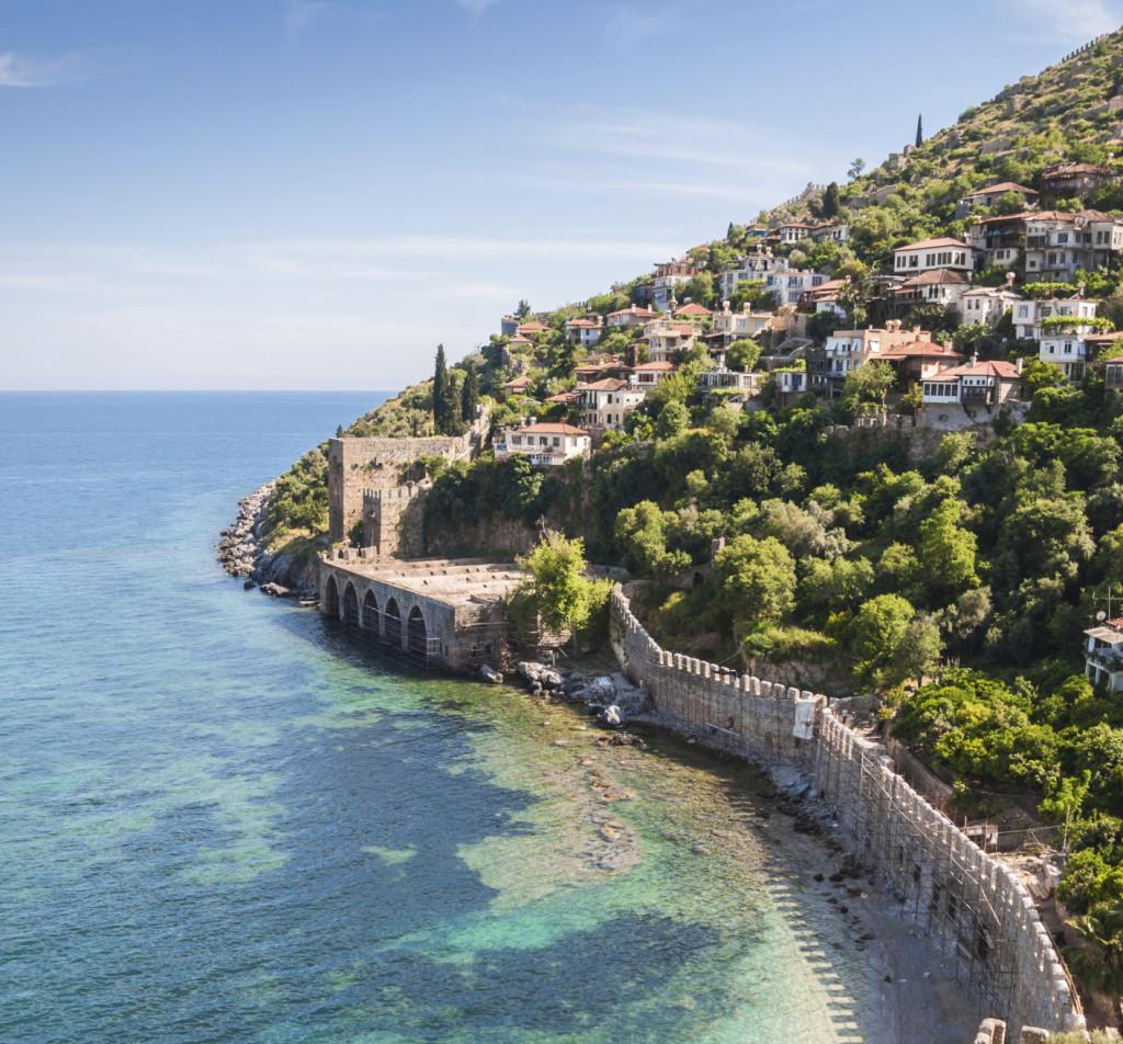 Una delle città della provincia di Antalya in Turchia