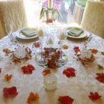 allestimento per matrimonio in autunno