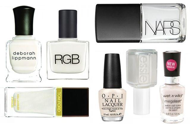 Su mani e piedi  il bianco risalterà un colore perfetto esaltato anche dall'abbronzatura
