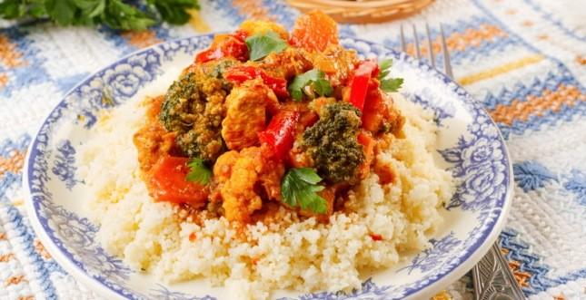 cous cous pollo verdure