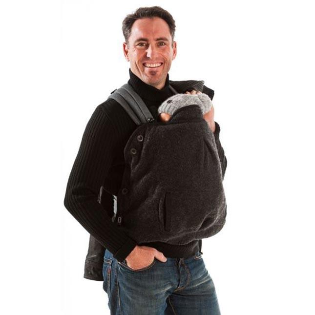 Cover in lana cotta Mamalila, elegantissima anche per i papà. Su tabata.shop a 89.00 Euro