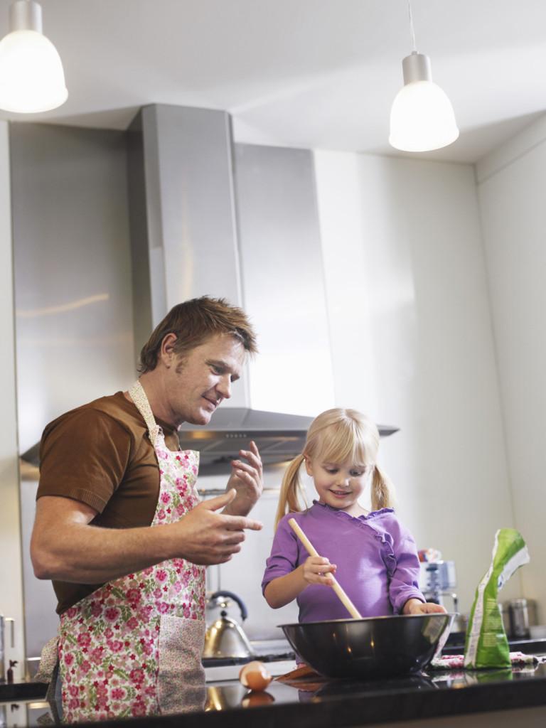 La cucina è un ambiente amato dalle donne, ma anche dagli uomini!