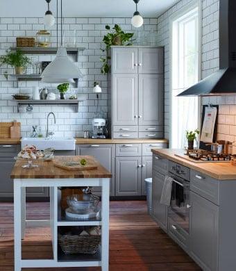Con le soluzioni Ikea, cucine componibili, potete arredare con gusto e a basso costo