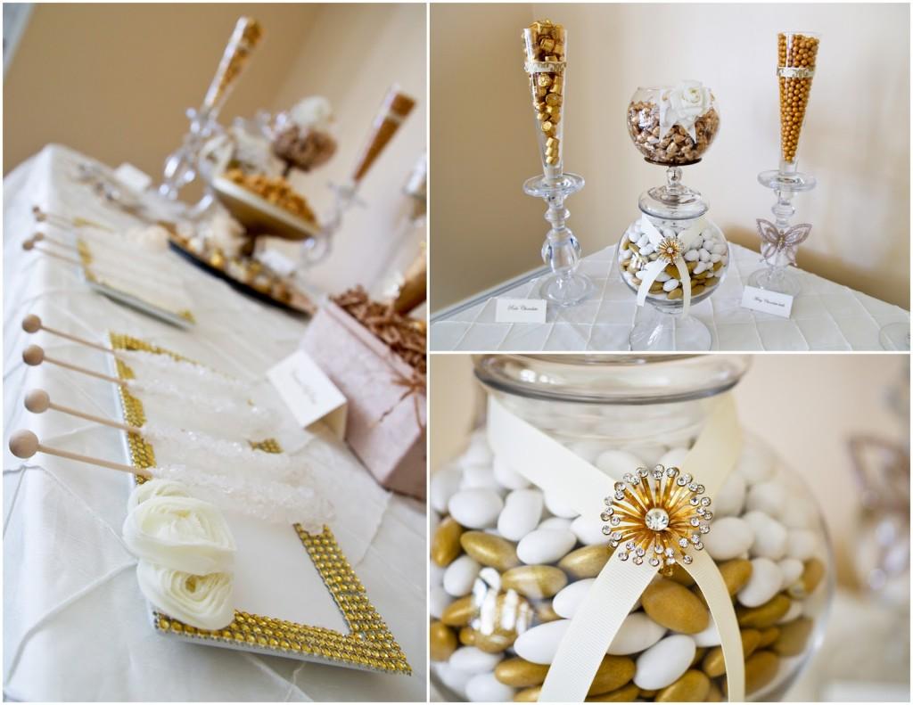 originale colore oro nella wedding pallete