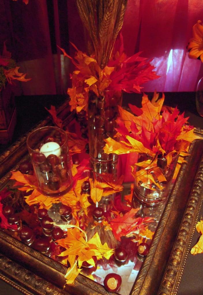 decorazione matrimonio autunno