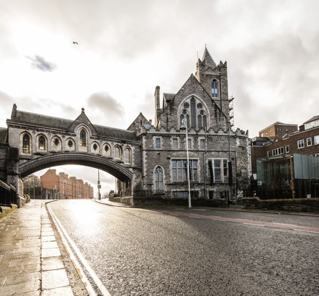 Dublino, al tramonto