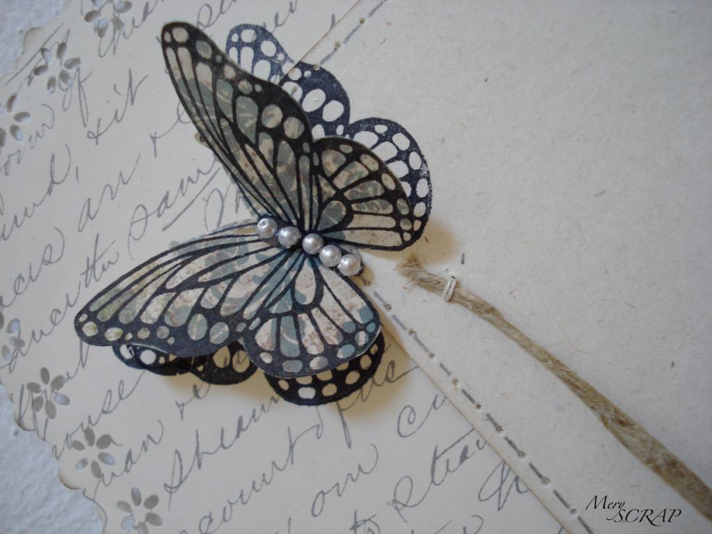 farfalle chic con romantiche  perline