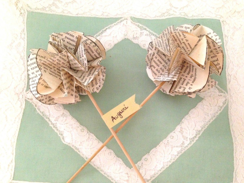 originale cadeaux nozze di carta